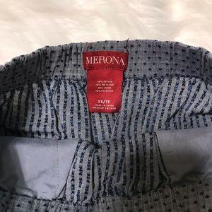 Merona Skirts - Merona Chambray Polka Dot Tie Skirt